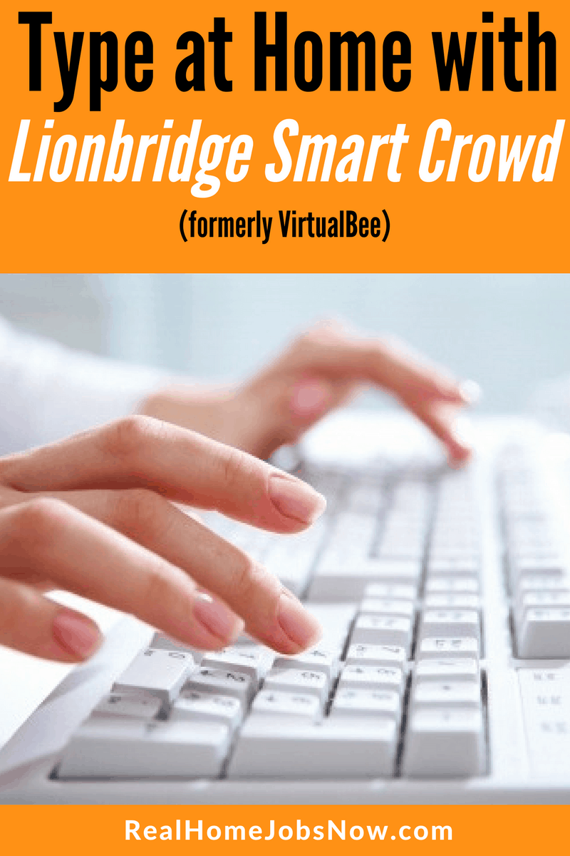 Work from home data entry jobs can be difficult to find, but VirtualBee (now Lionbridge) offers data entry and more!