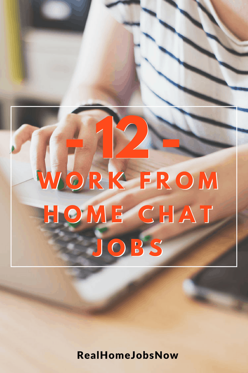 Want to work from home but you don't want to take calls? You can get work from home chat jobs as a sales agent, customer service representative, live chat adviser, or even an email support agent with one the companies on this list!