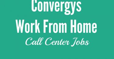 Convergys Work From Home Review