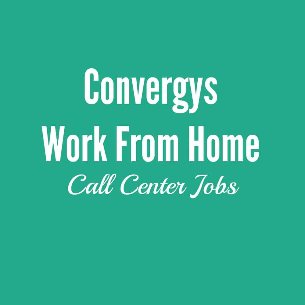 convergys work from home call center jobs. Black Bedroom Furniture Sets. Home Design Ideas