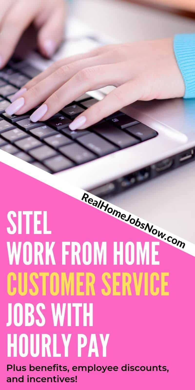 Sitel Work At Home Customer Service Jobs With Benefits