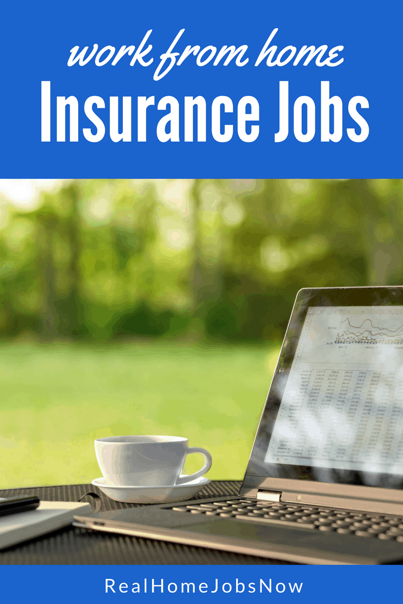 Are there any work from home insurance jobs? Absolutely! You can be a claims representative, customer service agent, appraiser, underwriter, and more!