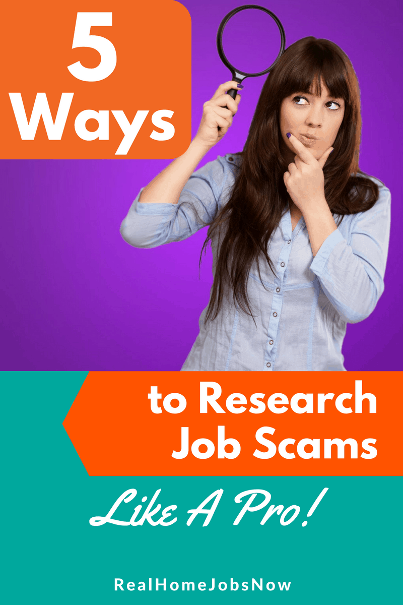Do work from home scams have you on the sidelines? Don't let them scare you. This list will teach you how to research so you'll never get scammed!