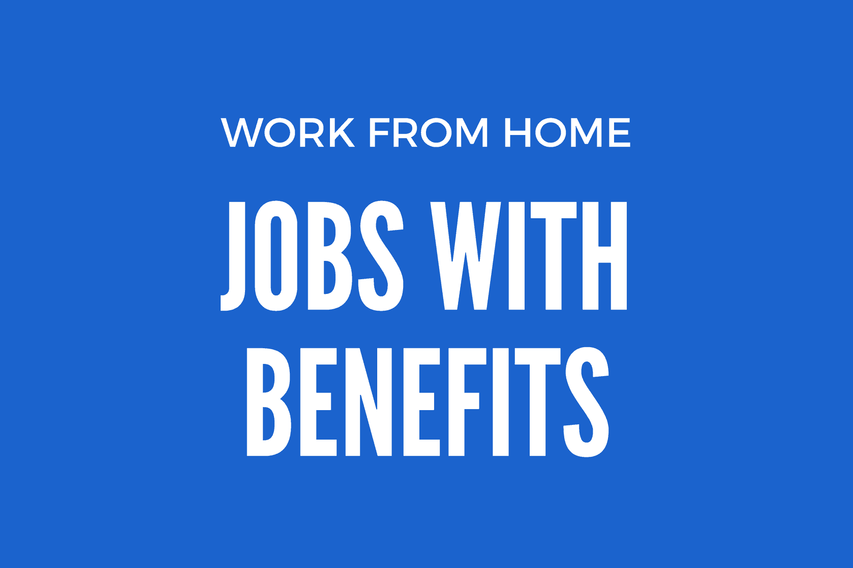 jobs from home