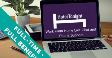Hotel Tonight Chat Jobs At Home
