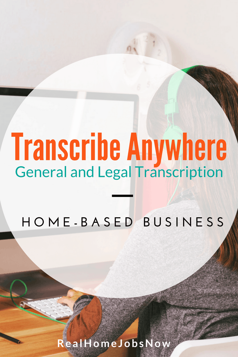 Transcribe Anywhere teaches you what you need to become a successful professional transcriptionist. Start your home-based business with a proven system.