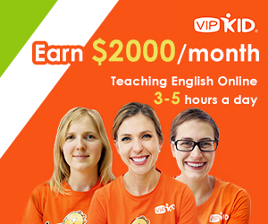 Work From Home with VIPKID