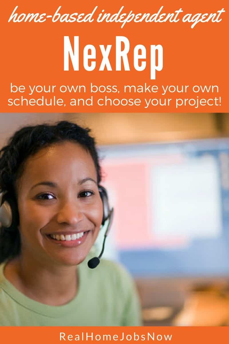 If you want to be your own boss with the freedom to make your own schedule, NexRep might have an opportunity for you. Not only do they have several projects to choose from, but you don't need a landline phone for this job and you can use a Mac!
