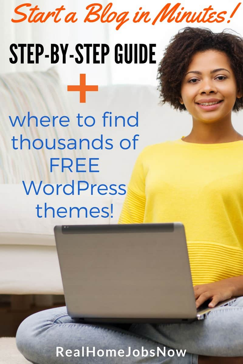 Do you want to start a blog? Blogging is a terrific way to help others by sharing your expertise, and a great way to earn a flexible income from home!