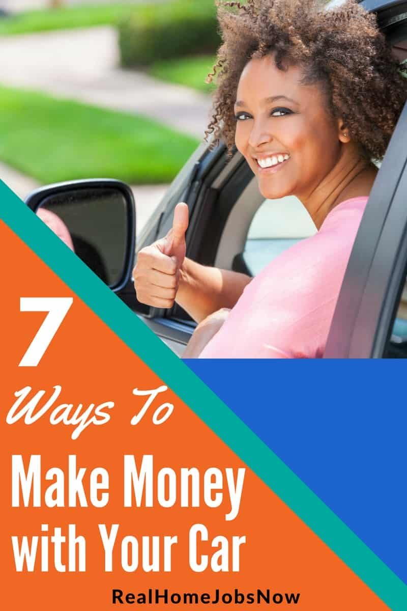Make Money with Your Car - Driving or Sharing!
