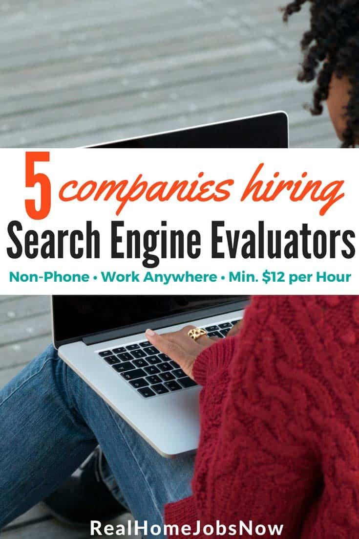 search engine evaluator job  popular non