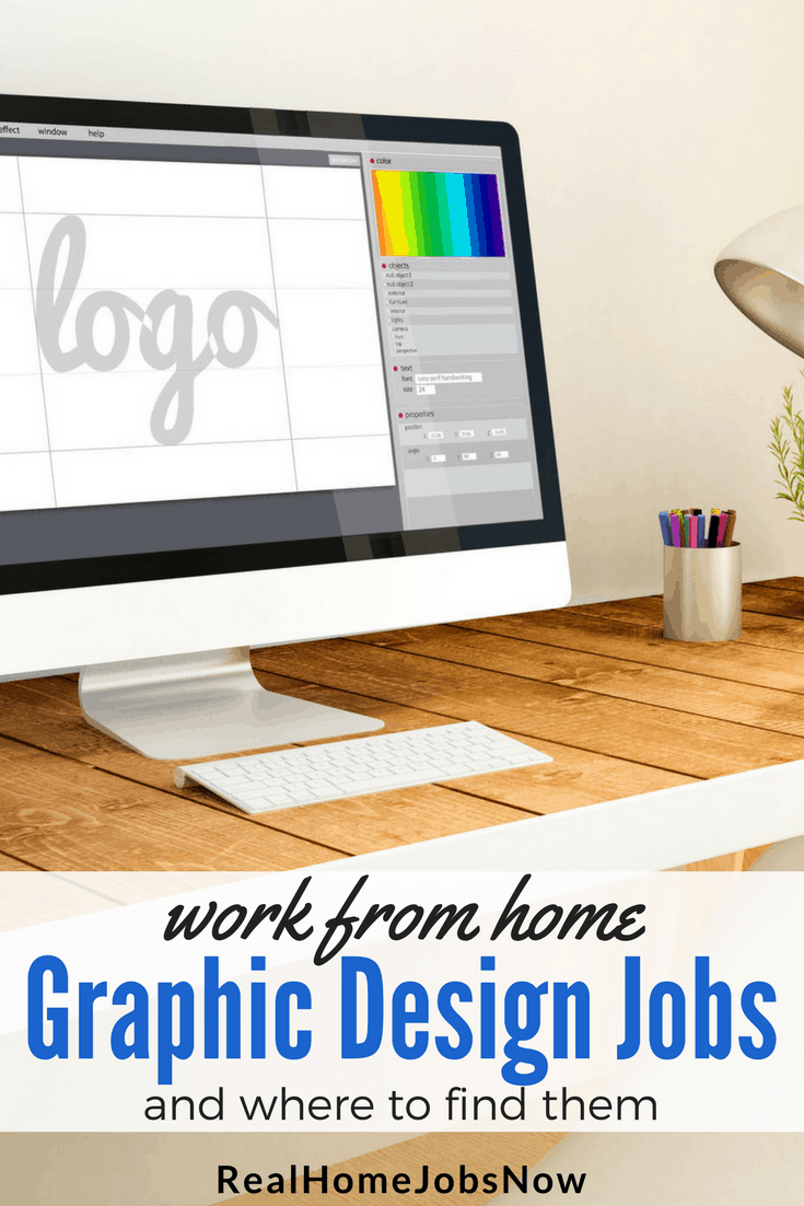 how to find work from home graphic design jobs