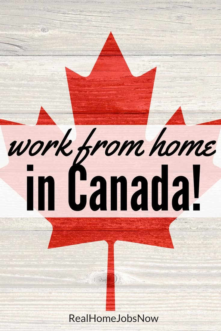 Canadians Can Work At Home, Too! These Companies Provide Work From Home Jobs  In